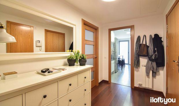 #proyectomirasol #iloftyou #interiordesign #barcelona #lowcost #catalunya #ikea #ikeaaddict #fejka #sinnerlig #myvinilo #ideal #osted #hemnes #recibidor #hall #grundtal #cocina #kitchen