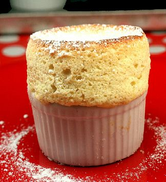 If you love vanilla, you'll go crazy for these amazing Vanilla Bean Souffles by Todd English.  Perfect Valentine's Day dessert!