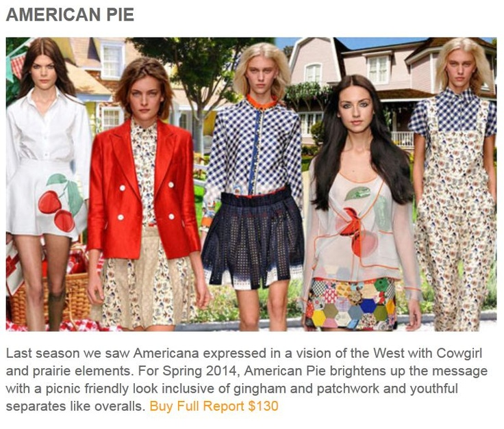 AMERICAN PIE2014 Trends, Ss2014, Spring Summer, Fashion Trends, Spring 2014, Mixed Pattern, American Pies, Summer Trends, Ss 2014