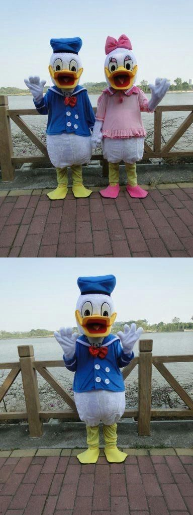 2016 Donald Duck mascot costume Donald Duck mascot  Donald Duck and Daisy Mascot Costumes  free shipping