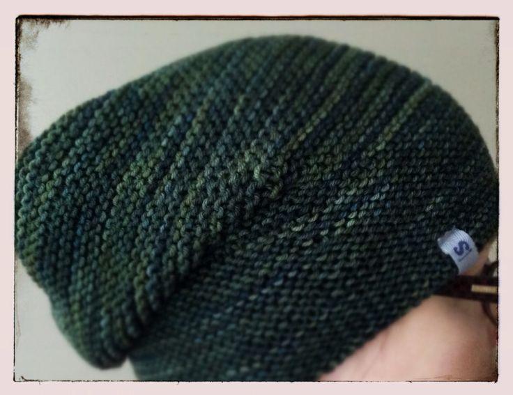 Rikke hat, yarn by Malabrigo.