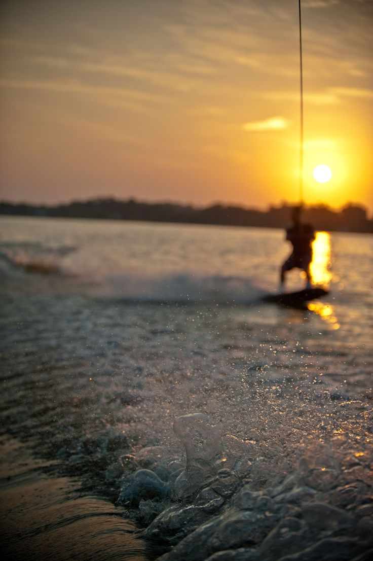 Want to learn to wake board!