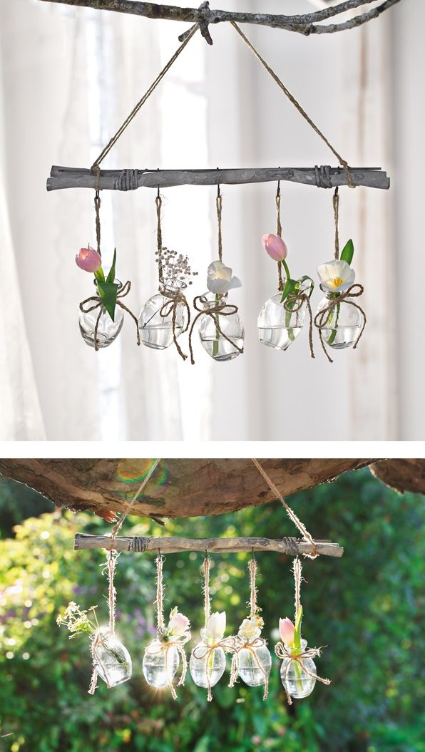Eine Tolle Dekoration Zum Aufhangen In Rustikalem Design