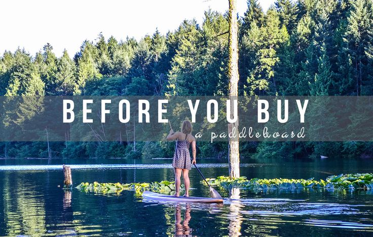 Thinking about purchasing a paddle board? Read our buyer's guide for a basic introduction to the details and specs you'll need to consider before buying.