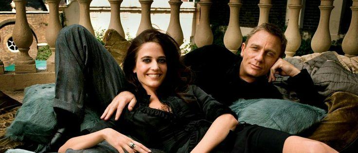 David Craig & Eva Green in Casino Royale.