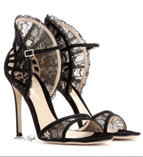 GIANVITO ROSSI - wow! More over at www.breakfastwithaudrey.com.au