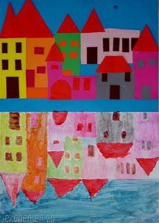 Tekenen en zo: huizen