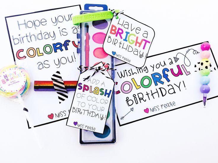 classroom birthday gifts