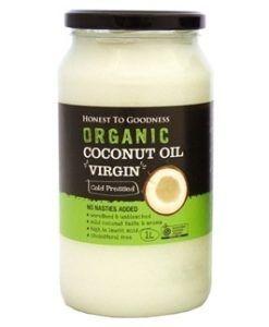 Honest to Goodness organic coconut oil - vigin