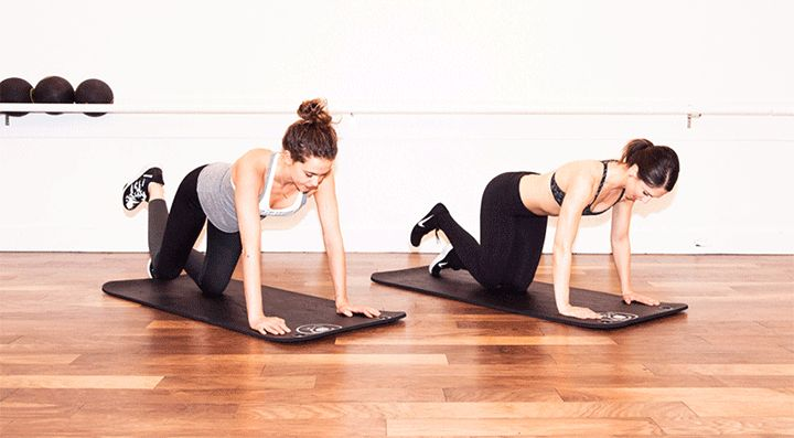 How to Do Bari Studio's Workout At Home: You can do it literally anywhere, and we swear it will tone your entire body. ---- THE EXTRA KICK-BACK.   Coveteur.com