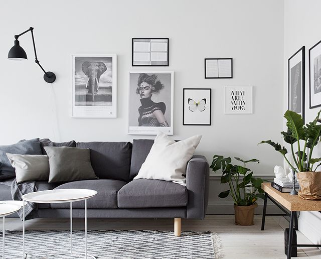 Homes to Inspire | Understated Style in White + Grey