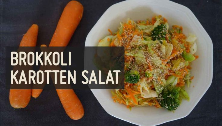 Brokkoli Karotten Salat – Paleo360.de