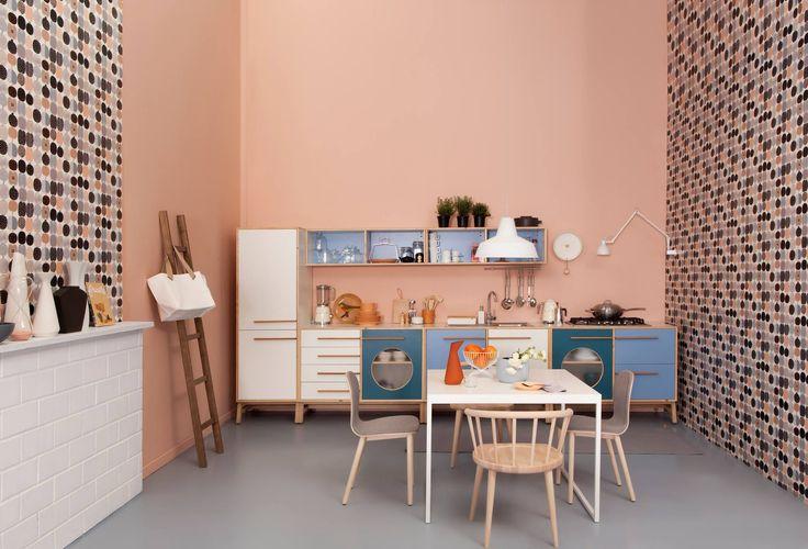 Cucina Happy Kitchen set televisivo per Casa Facile su La5 brand: Design Mood design: JVLT www.designmood.it