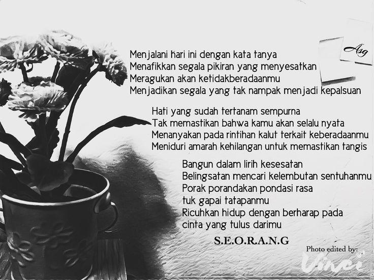 Jakarta, Puisi Monokrom l Tanpa Arti -ASG-