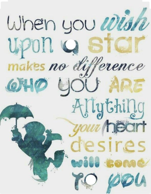 Disney's Jiminy Cricket - when you wish upon a star