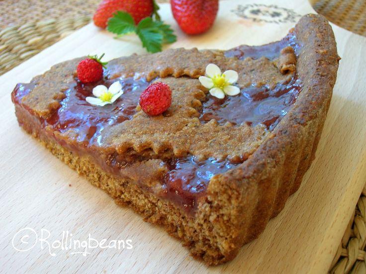 Rollingbeans: Linzer torte integrale (vegan)
