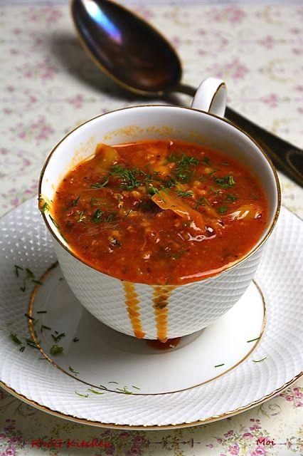 R'n'G Kitchen: Zupa gołąbkowa na kaszance