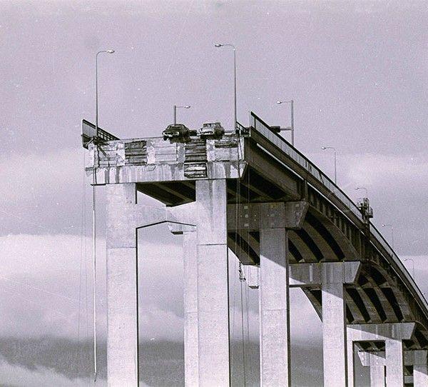The Tasman bridge disaster , Hobart , Tasmania , January 5th , 1975