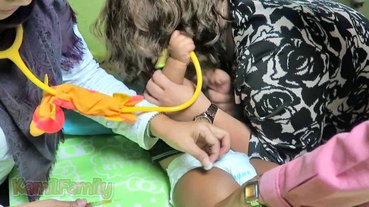 Vaksin Pertama Baby Kanaka Setelah Berumur 1 Tahun