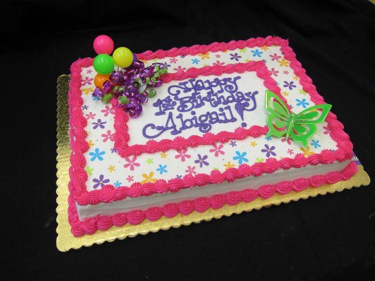 Best 25 Birthday Sheet Cakes Ideas On Pinterest