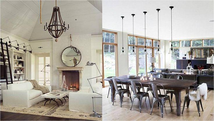 Inredning för vardagsrummet - Stolar, bord, soffbord, tavlor och dekoration