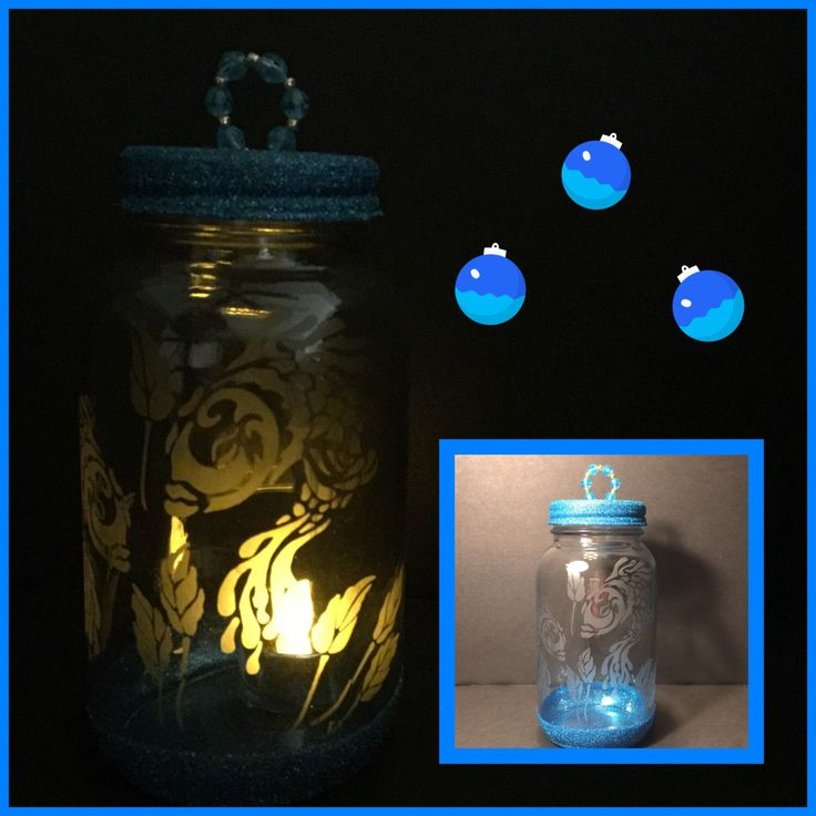 A personal favorite from my Etsy shop https://www.etsy.com/listing/493528391/tropical-fish-etched-glass-tea-light
