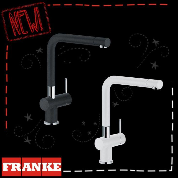 FRANKE Black & White Sink Mixers