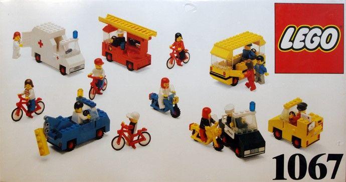 Lego Dacta: 1067 Community Vehicles (1988)