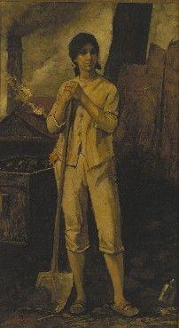 Constantin Meunier : A female miner / Een mijnwerkster (1887)