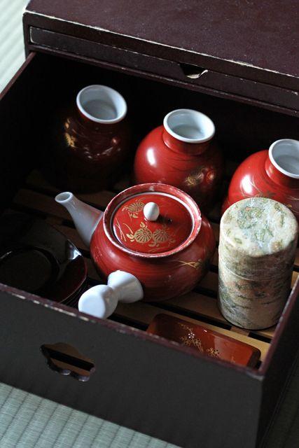 ryokan, 旅館, Japanese tea set, 茶器