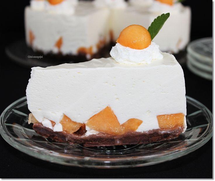 Sárgadinnye torta | Fotó: gizi-receptjei.blogspot.hu
