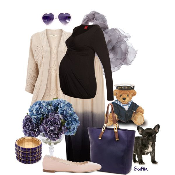 """""""Elegant Mom to be (maternity)"""" premaman outfit by soofiia on Polyvore"""