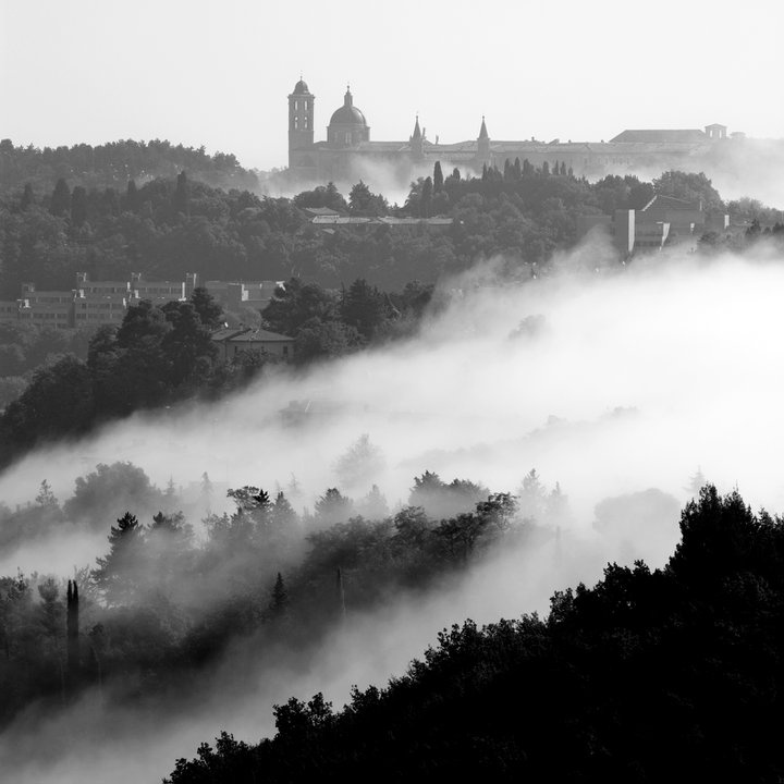 Urbino out of the clouds