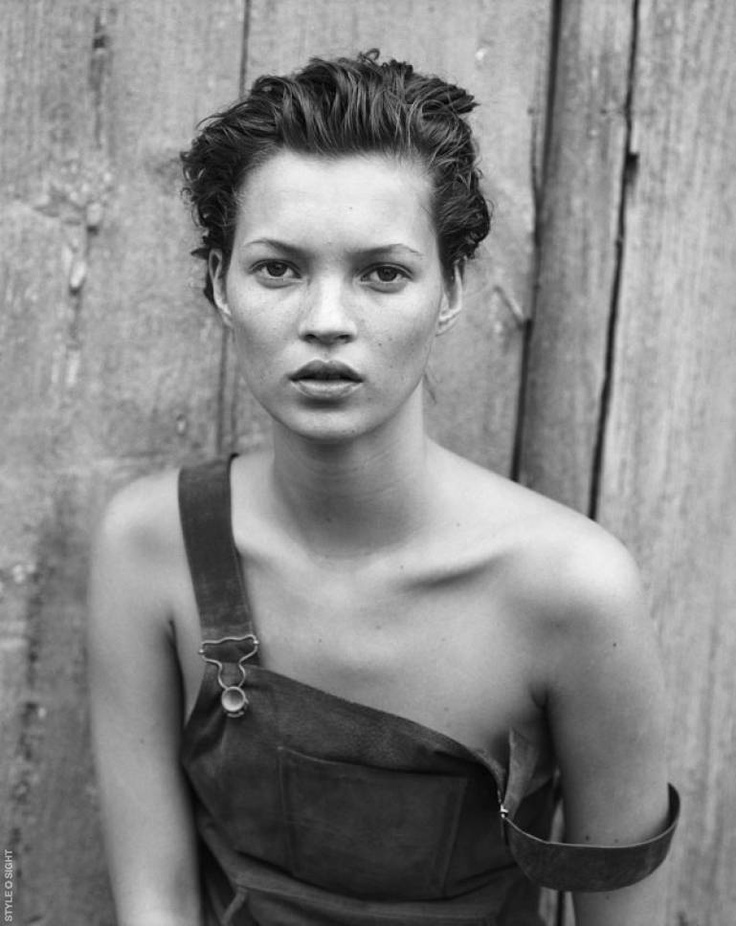 Kate Moss - 16 yrs old