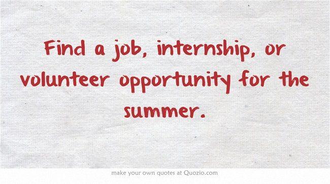 how to find volunteer job