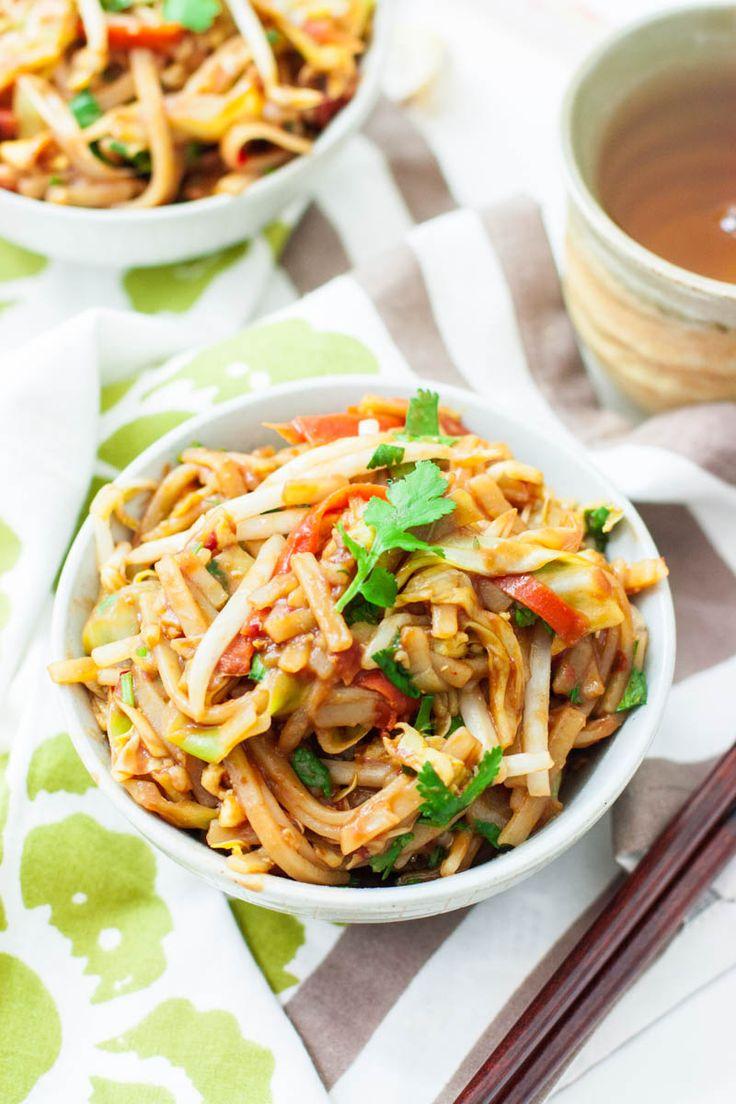 Vegetarian Pad Thai on Pinterest | Vegetable pad thai, Good vegetarian ...
