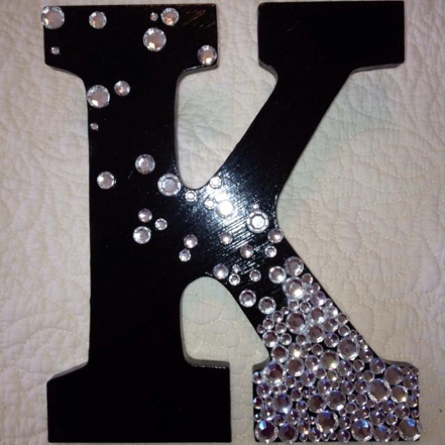 471 best k is for kirsten images on pinterest lyrics letter k and painted letter rhinestones glued with mod podge and elmers craft glue spiritdancerdesigns Images