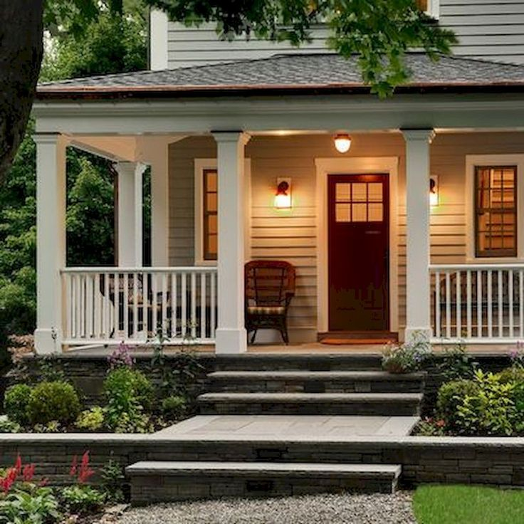 Farmhouse Front Porch Ideas: Best 25+ Front Porch Railings Ideas On Pinterest
