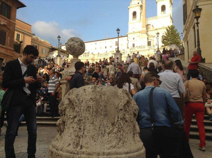 Piazza di Spagna #Roma #30IFIStour