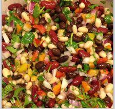Three Bean Salad - choosehappiness first.blogspot.ca