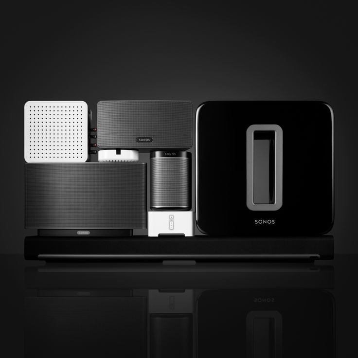 Bruce Mau Design | Sonos | Work I HAVE THE BAR..JUST NEED BASS, OUTSIDE, ONE FOR EACH ROOM.  ($6,000)