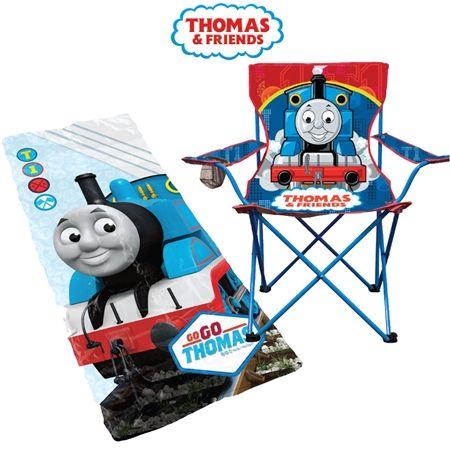 Thomas Sleeping Bag and Camping Chair