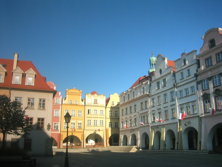 One of my favorite towns in Silesia (the western-most province of Poland). I was at a huge flea market here (the town square). If you wanted it, you could find it here.