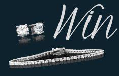 Win a Diamond Tennis Bracelet and Diamond Stud Earrings worth R50000   Ends 31 December 2014