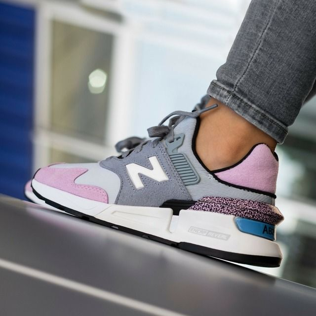 New Balance 997 Sport Steel Crystal Pink | Sneakers fashion ...