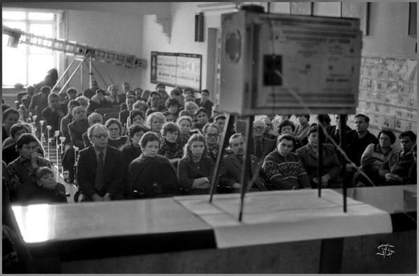 Группа ТРИВА — это фотографы Владимир Воробьев, Владимир Соколаев и Александр Трофимов, работавшие на рубеже 70–80-х годов при Кузнецком металлургическом комбинате (КМК). Впрочем, хроники