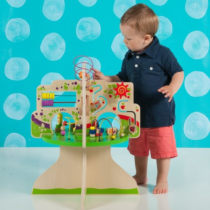 Activity Table Tree Top Adventure by The Manhattan Toy Company | Entropy