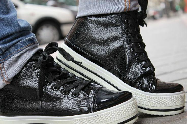 #Zapatillas negras MotuFashion