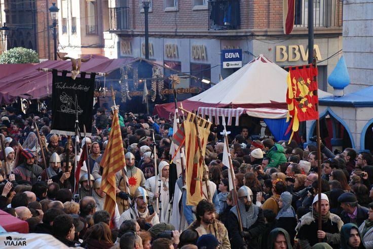 Comitiva de los funerales de Diego de Marcilla. Bodas de Isabel. #Teruel