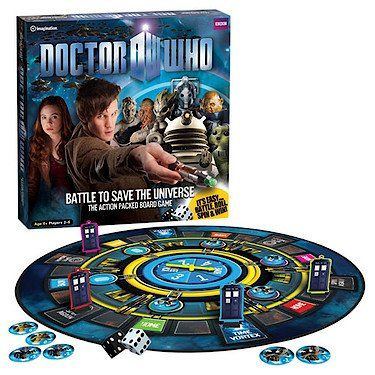 Doctor Who Toys and Games For The Whole Family
